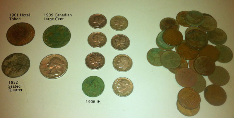 E-trac Metal Detecting - First Week Finds
