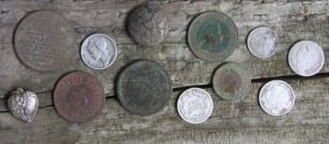 These coins were found in 2 hours. Virgin sites like this don't usually just fall in your lap!