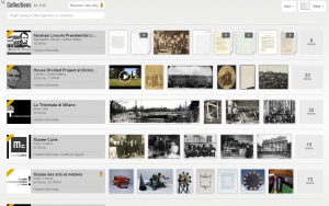 Google's Collections Interface