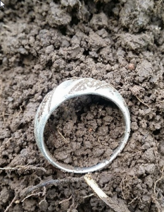 Ring found with Deus