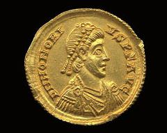 Solidi Gold Coin