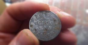 Johnson School Penny Lunch Token
