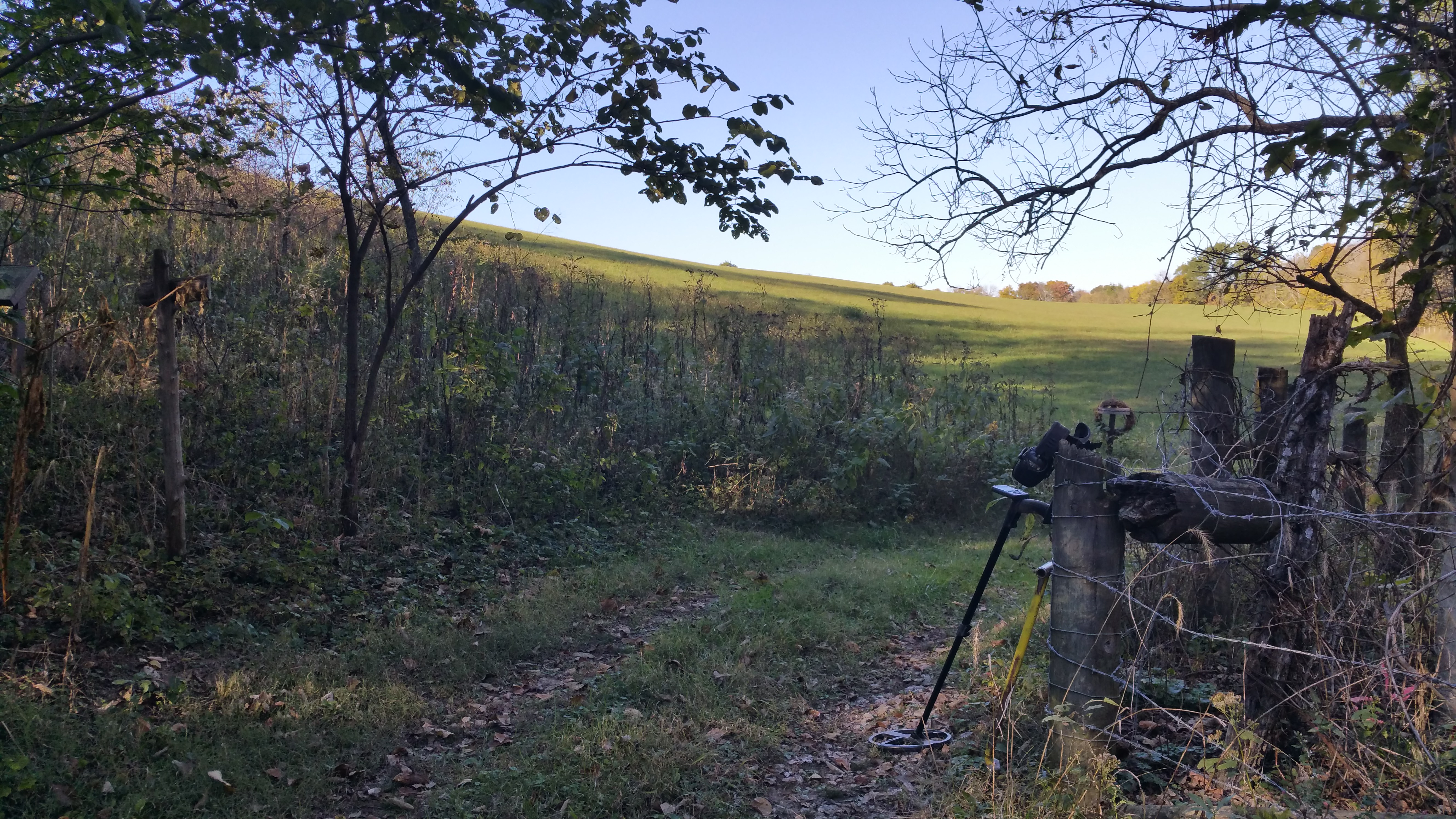Deus XP and Scenic Wagon Road - Boyle County - KY