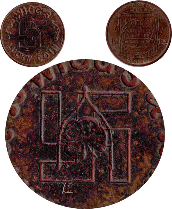 Wiggs Token With Inset