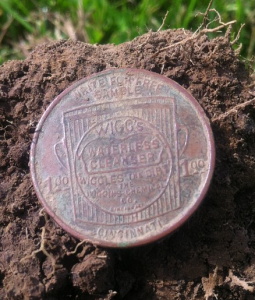 Wiggs Chemical 1.00 Token - Metal Detecting